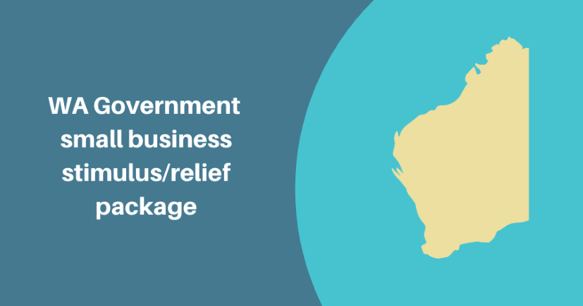 WA Government small business stimulus/relief package