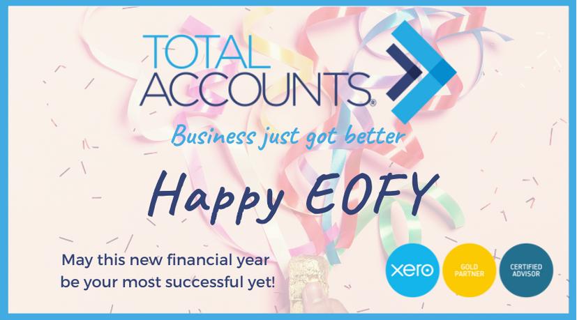 Happy EOFY !