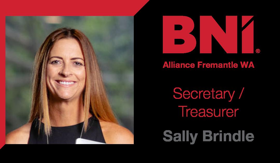 BNI Alliance Fremantle – new Secretary/Treasurer